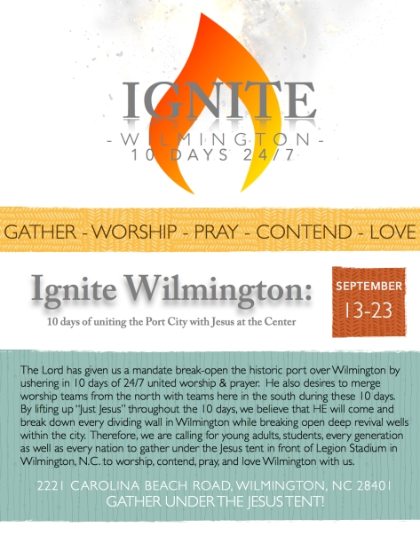 Ignite Flyer